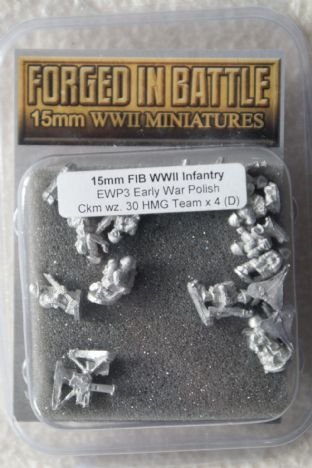 Forged in Battle 15mm EWP-03 Polish HMG Teams